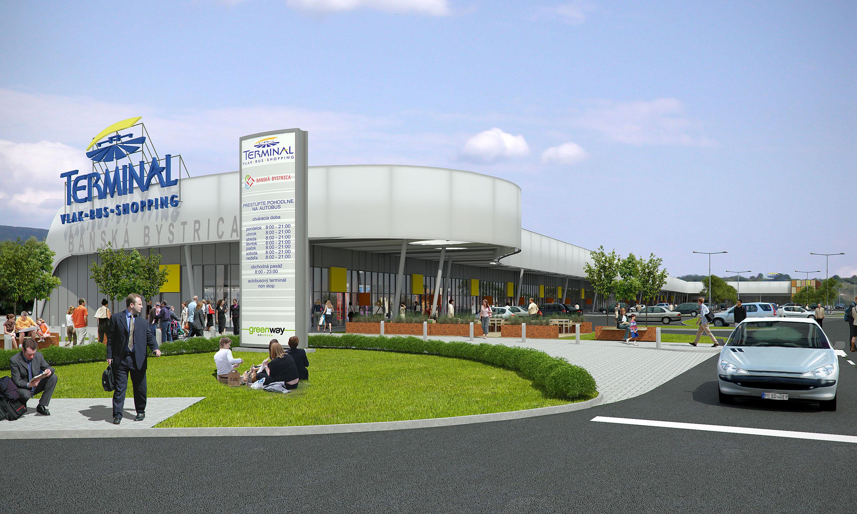 Vizualiz cia nov autobusov stanica by mohla st u na for Bb shopping it
