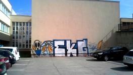 FOTO: Vandalskí sprejeri v našom meste