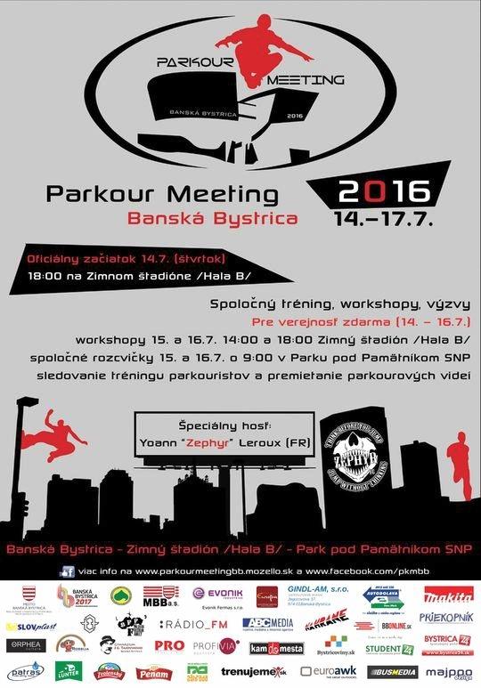 plagat parkour meeting