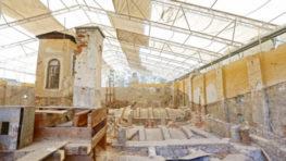 FOTO: Kontrolný deň na stavbe kaštieľa Radvanských