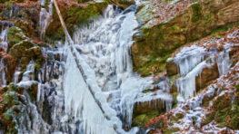 FOTO+VIDEO: Keď príroda čaruje na Turovskom vodopáde