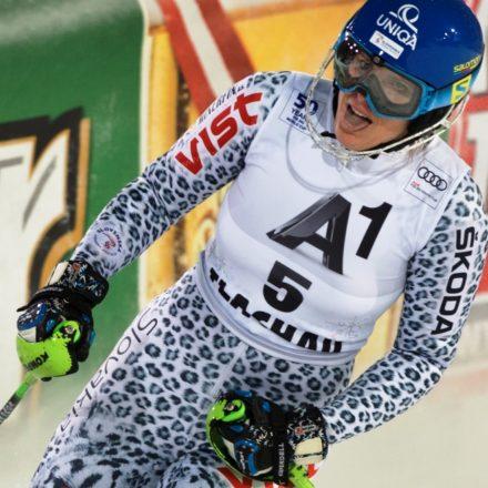 SR Lyžovanie SP slalom nočný ženy 2.kolo Velez-Zuzulová piata