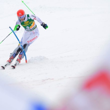 Slovinsko Maribor lyžovanie SP slalom ženy 2. kolo