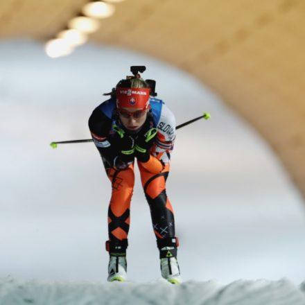 ČR Biatlon SP 3.kolo šprint ženy