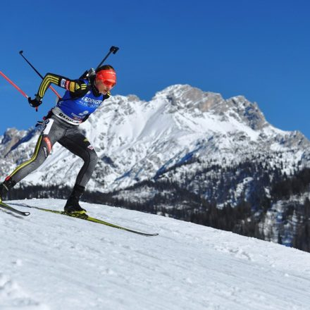 Rakúsko Biatlon MS ženy šprint medaily