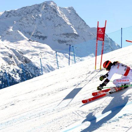 Švajčiarsko Lyžovanie MS ženy obrovský slalom 2. kolo