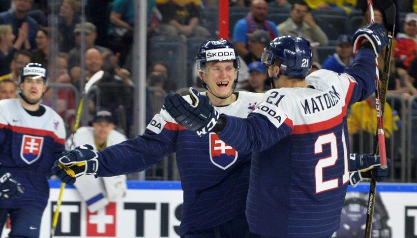 Nemecko Kolín MS17 Hokej Švédsko Slovensko