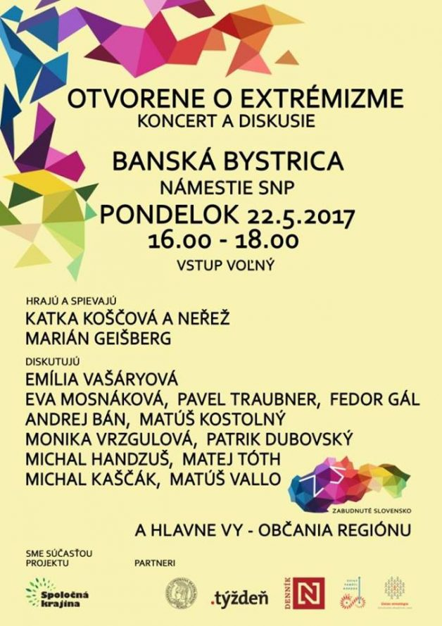 plagat zabudnute slovensko