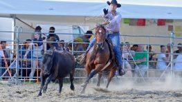 Víkendové rodeo v Slovenskej Ľupči