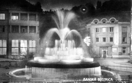 fontana v narodnej