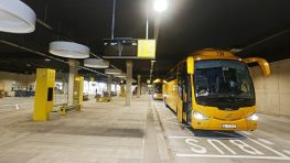 FOTO+VIDEO: Novú autobusovú stanicu otvoria vo štvrtok, dnes si ju vyskúšali Regiojety