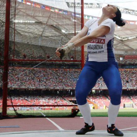 Čína Peking SR atletika MS kladivo ženy kvalifikácia