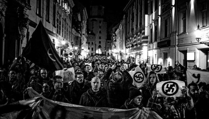 antifasisticky pochod