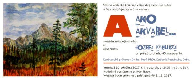 vystava Kreutz pozvanka