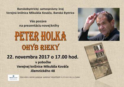 Holka Peter - pozvánka