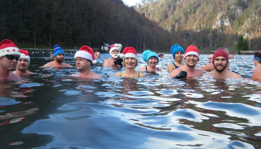 Mikulasske plavanie otuzilcov