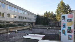FOTO: Kontrabetonáž na Gymnáziu J. G. Tajovského