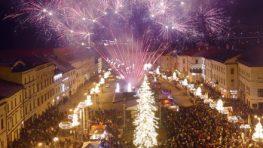 Námestie SNP s programom a ohňostrojmi na Silvestra i Nový rok