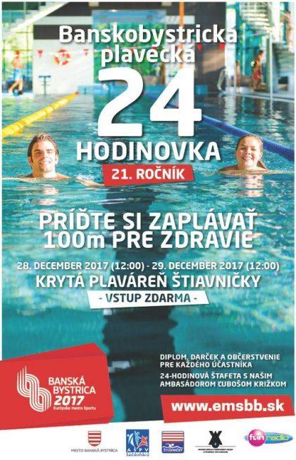 plagat plavecka 24 hodinovka