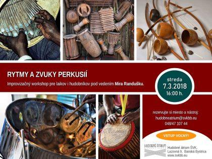 Perkusie workshop 3