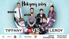 Hokejový súboj Tiffany vs. Leroy s UMB Hockey Team pre Svetielko nádeje