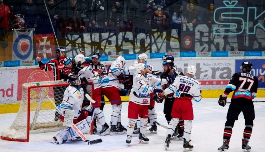 SR hokej TL 51. kolo Zvolen B. Bystrica BBX
