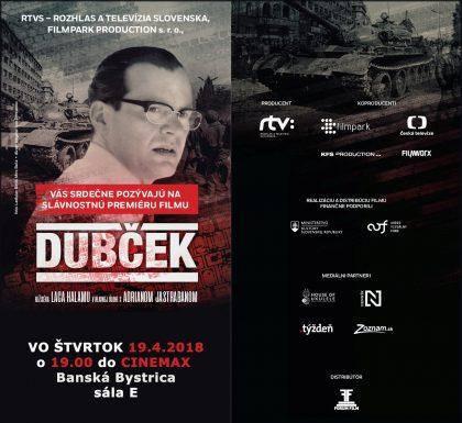 Dubcek pozvanka premiera Banska Bystrica