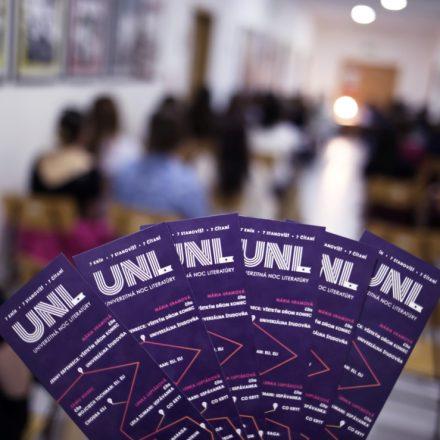 Literárne pasy sprevádzajúce každého navštevníka UNL