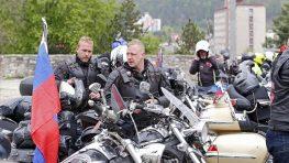 """Noční vlci na """"Ceste víťazstva na Berlín"""" prídu do Banskej Bystrice 4. mája"""