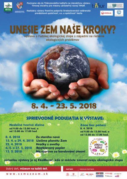 plagát_Unesie Zem_naše_kroky