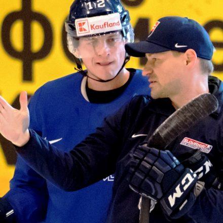 Dánsko Kodaň MS2018 Hokej A Slovensko tréning