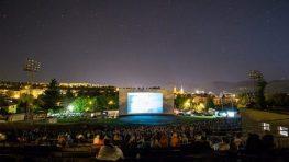 Prehliadka panoramatických filmov na bystrickom amfiteátri