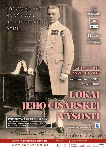 plagát_na_výstavu_Lokaj_jeho_cisárskej_výsosti