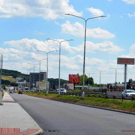 Zvolenská cesta obnove júl 2018