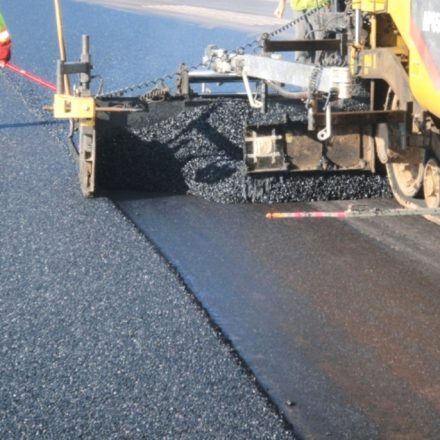 pokladka asfaltu