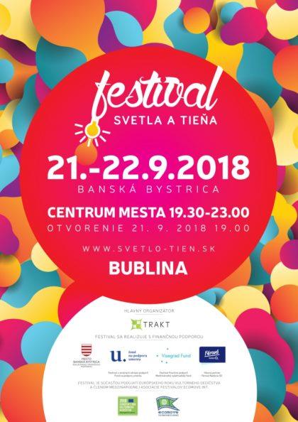 Festival svetla a tieňa 2018
