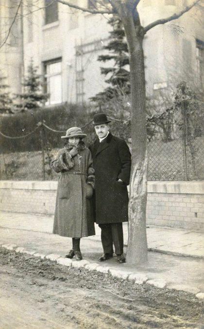 Karol-Beniač-ml.-s-manželkou-Doroteou-Wannerovou
