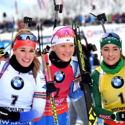 Rakúsko SR Hochfilzen biatlon SP stíhacie ženy Fialková