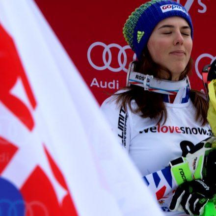 Švajčiarsko slalom ženy SP 2. kolo