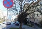 zakaz parkovania pred MsU