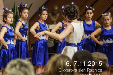 plagat festival zbor. spevu F.Bystry