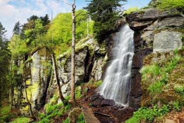 Poľana - vodopád Bystré