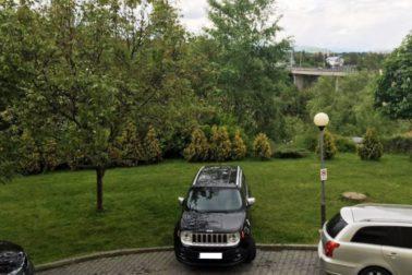parking pred tyzdnom