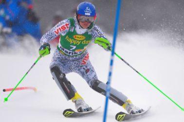 Slovinsko Maribor lyžovanie SP slalom ženy 1. kolo