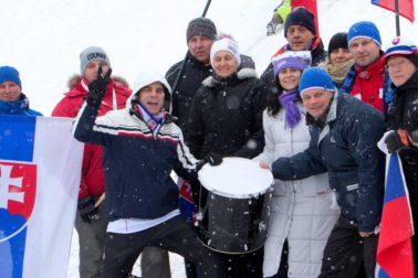 Slovinsko Maribor lyžovanie SP slalom ženy atmosféra