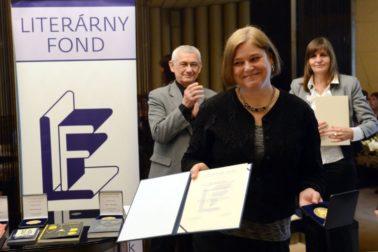 SR Literárny fond ceny 2014 odovzdávanie BAX
