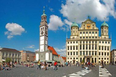 Augsburg centrum
