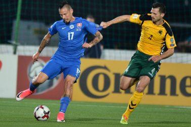 Litva SR Futbal MS kval. F Litva Slovensko