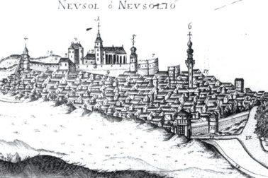 Veduta stredovekej Banskej Bystrice