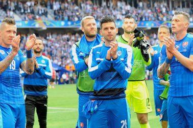 Francúzsko futbal ME16 Nemecko Slovensko osemfinále